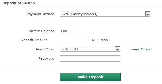 Casino payment ← Free Bets No Deposit