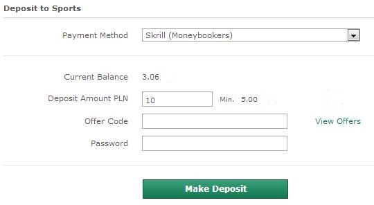 Payment ← Free Bets No Deposit