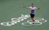 Tennis at the Olympic Games in Rio de Janeiro. Great history, interesting event in Brazil